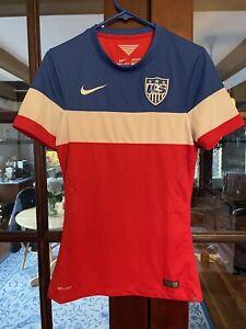2014 USA USMNT Soccer Jersey World Cup Bomb Pop Small Nike 578023-657