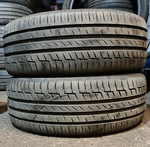 X2 Matching Pair Of 235/50/18 Continental Premium Contact 6 101H  Tyres