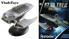 Baron Grimes Festoon Yacht Star Trek Discovery Issue 16 Eaglemoss w/magazine