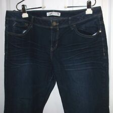 Route 66 Blue Jeans Womens 14 Boot Cut Classic Fit Cotton Blend Stretchy