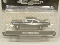 Greenlight 1:64 Black Bandit 1957 Plymouth Fury Diecast model car