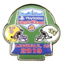Official 2019 Playstation Fiesta Bowl Collectible Pin Lsu Tigers vs Ucf Knights