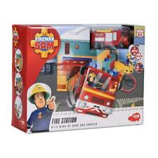 Simba 109258282 Fireman Sam Fire Station with Figurine Red Light 3 Alarm Sound