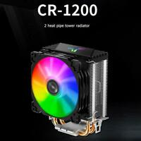 RGB LED CPU Cooler Fan Heatsink for Intel LGA 775/1150/1151/1155/1156 AMD AM4/AM