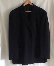 Blue Pure New Wool  Single Breasted PIERRE CARDIN Comfort Suit  Chest 44 inches