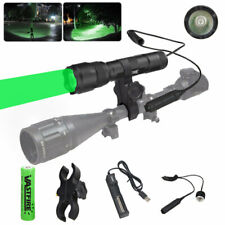 500 Yards Light LED Flashlight Varmint Predator Coyote Hog Pig Hunting Mount