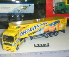 Camions miniatures jaunes Herpa