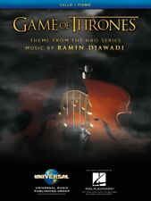 Game of Thrones Theme Arranged for Cello and Piano - Sheet Music New 000253392