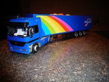 "Ancien Camion Plastique LKW MERCEDES ACTROS Truck "" Transport DREAMLAND"""