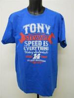 "NEW TONY STEWART #14 Nascar ""SPEED IS EVERYTHING"" Shirt Mens Sizes L-XL-2XL-3XL"
