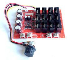 Speed Controller for DC motor 24 to 48 volt 1 HP motors 60-AMP 3000-WATTS