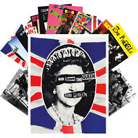 Postcards Pack [24 cards] Sex Pistols Punk Rock Music Vintage Posters CC1268