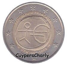 Frankrijk 2009 2€ UNC 10 jaar Euro EMU