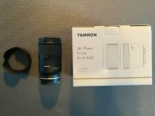 Tamron DI 28-75mm F/2.8II RXD Lens for Sony Mirrorless in Immaculate Condition