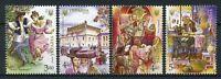 Ukraine 2016 MNH The Jews Jewish Community 4v Set Cultures Stamps
