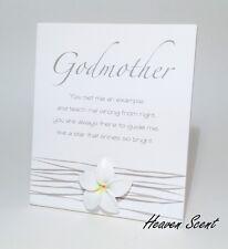 Splosh Godmother Poem Sign Gift Ideas for Her For Godparent & Christening Gifts