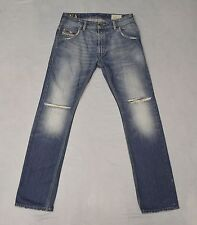 B0 Auth DIESEL DIRTY NEW AGE Krooley Regular Slim Carrot Jeans Size 27 X 30