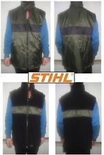 Gilet vest jacke impermeabile wasserdicht woodman motorsage STIHL green L