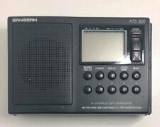 Sangean ATS 800 AM/FM/MW/SW PLL Synthesized Receiver