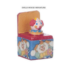Jack in the Box No2 Dolls House Miniature Ideal for Nursery