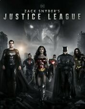 Zack Snyder'S Justice League (2021,Dvd,Release) Ultimate 242 Min Edition.