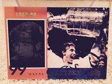 Wayne Gretzky Mcdonald's Edmonton Oilers Redemption Card 1998 Large 5 by 7 inch