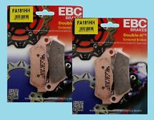 2x EBC FA181HH Sintered Front Brake Pads for Ducati 695 Monster 2007-08