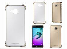 Original Samsung Galaxy A3 2016 Edition Transparente Funda Cubierta ef-qa310