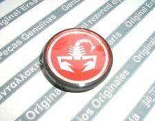 1X Abarth NEW Genuine alloy wheel logo center cap 51811808 500 punto
