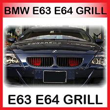 BMW E63 E64 Nieren Kühlergrill Front Grill Schwarz 2004-2010