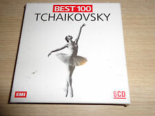 BOX  6 CD TCHAIKOVSKY BEST 100 EMI VERSIONE ITALIANA SIGILLATO