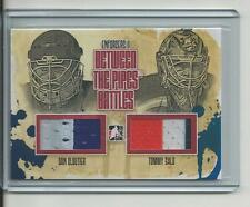 2013-14 ITG Enforcers II Between the Pipes Battles RED /10 Dan Cloutier v Salo