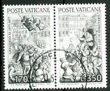VATICANO - 1977 - 600° del ritorno di Gregorio XI da Avignone a Roma