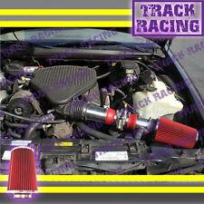 94-96 CHEVY CAPRICE IMPALA FLEETWOOD ROADMASTER 4.3L 5.7L AIR INTAKE KIT Red