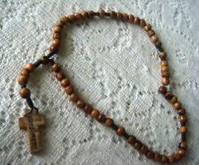 Olive Wood Holy Rosary From BETHLEHEM City.