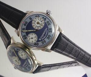 Regulateur MOLNIYA USSR Kriegsmarine Flat Mechanical Watch Vintage Naval Forces