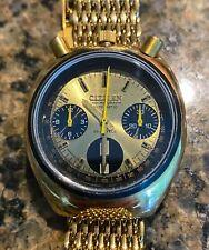 Vintage citizen bullhead chronograph cal.8110A 23 jewel, Cliff Booth Model