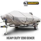 Budge 1200 Denier Waterproof Boat Cover   Fits Standard Deck Boat   3 Sizes