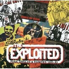 Exploited-punk Singles & Rarities' 80 -'83 CD alternative rock pop Merce Nuova