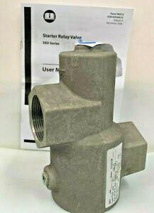 """INGERSOLL RAND SRV150 Air Starter Relay Valve 1-1/2"""" NPT Max 225 psi"""
