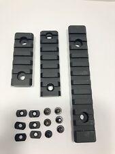 3pcs M-Lock Aluminum Picatinny Rail Section 11 Slots 7slots 5 Slots