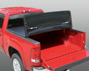 Rugged Liner For 15-18 GMC 6.5ft.(w/o utility track)Vinyl Tri Fold Cover FCC6514
