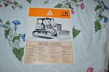 Allis Chalmers HD-11 Series B Crawler Tractor Dealers Brochure YABE11 Ver34