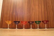 6 Römer Kristallgläser Eierlikörgläser Schnaps Glas Bleikristall 24% PbO in OVP
