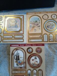 (27) Set Of 3 Pop A Toppers From Hunkydory  card making