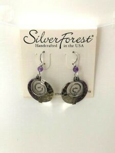 Silver Forest Handcrafted in the USA Earrings NEW (A11)