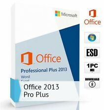 Microsoft Office 2013 Professional Plus 1PC Lifetime for Windows Full