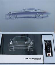 Porsche; Original Panamera Customer Brochure Pack with USB stick