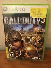 Xbox 360 Call Of Duty 3 Game