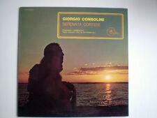 """GIORGIO CONSOLINI """"SERENATA CORTESE"""" LP DISCO VINILE 33 GIRI"""